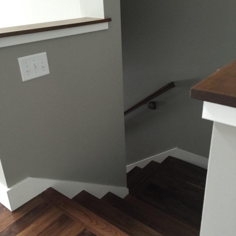 Edgewater Flooring on Stairs