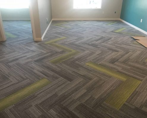 Designer Pattern w/ Carpet Tiles
