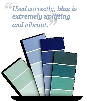 Decorating Hardwood With Blue