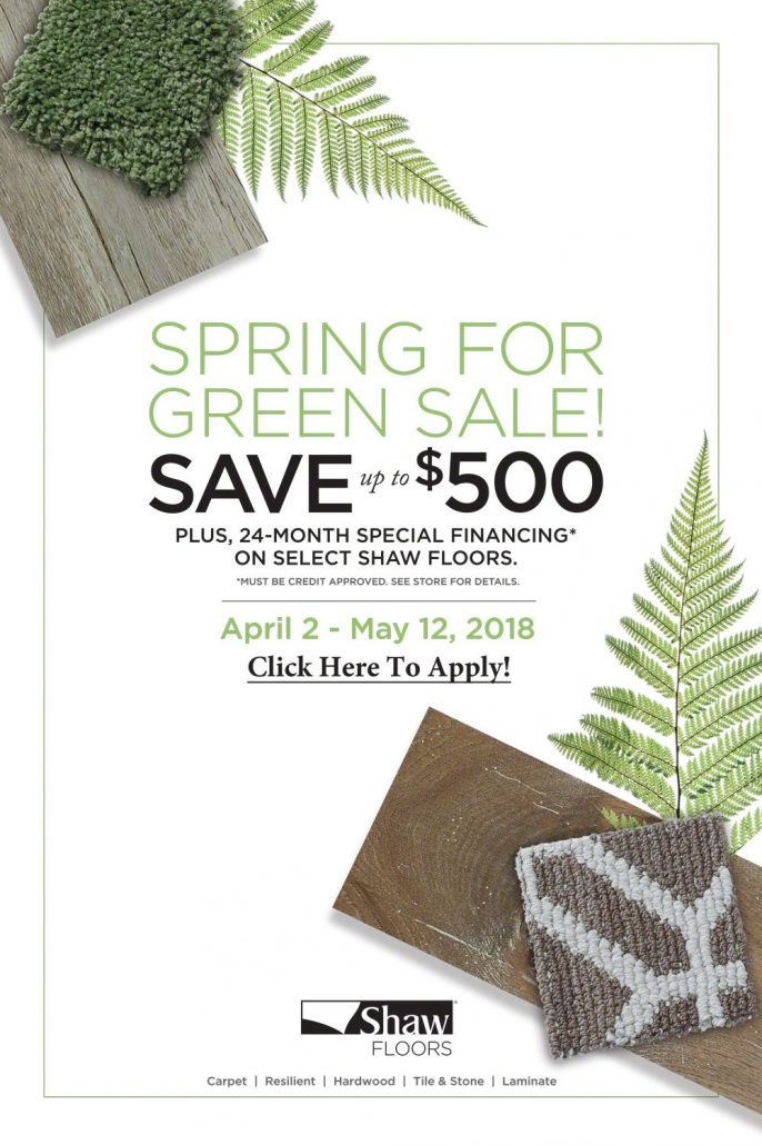 Spring for Green Special Financing