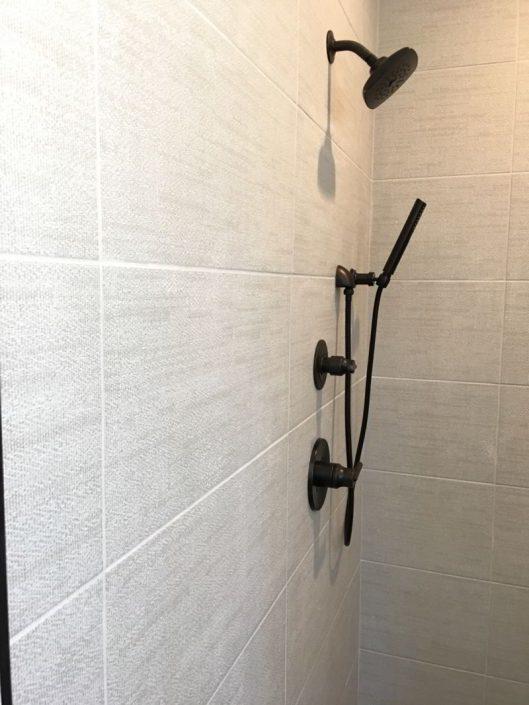 Digital Art Porcelain Tiled Shower