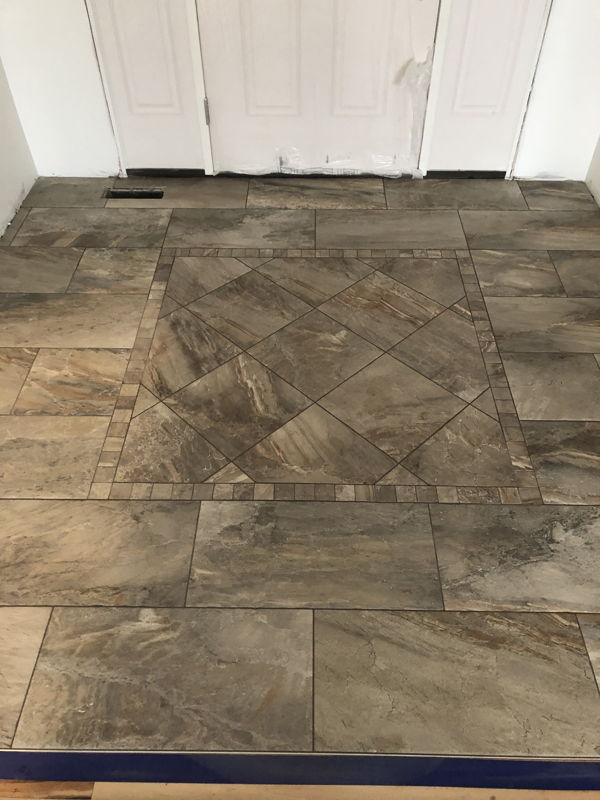 Custom tile installation in Suttons Bay