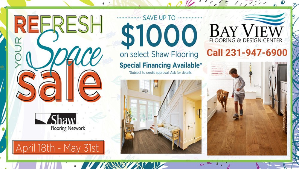 Refresh Your Space Sale Shaw Floors