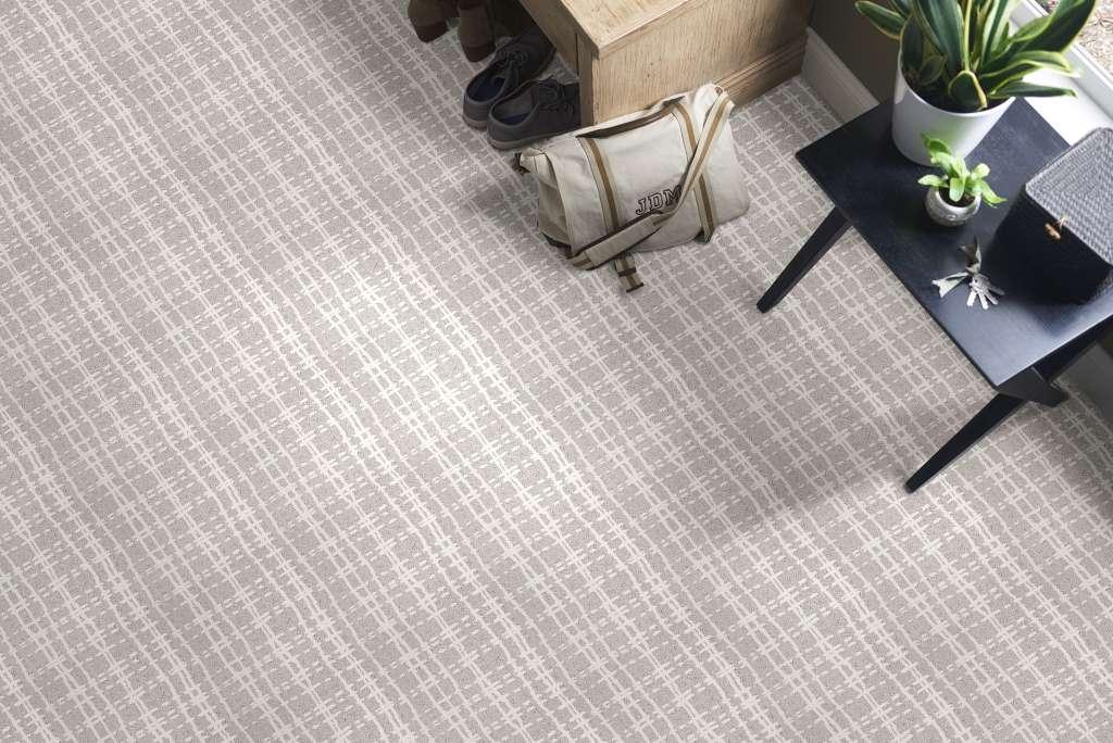 Shaw Fierce & Bold Carpet Color: Snowfall