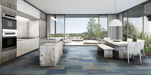 Macaubas Azul Natural Tile