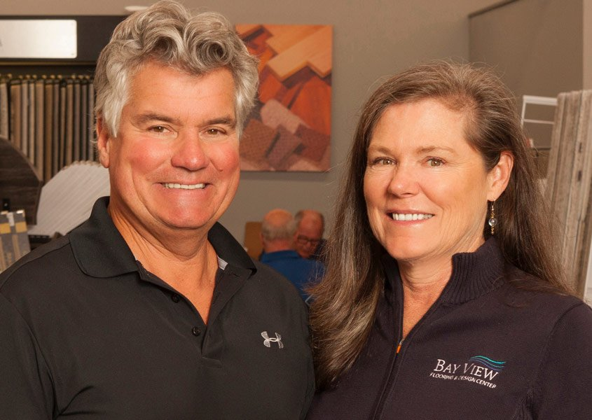 Tim & Kathy Hyland, Bay View Flooring