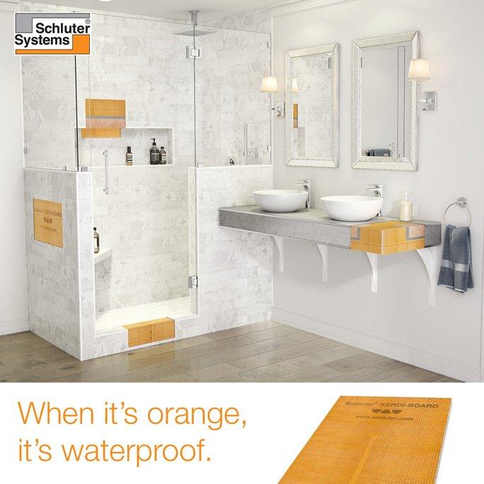 The Schluter®-Shower System