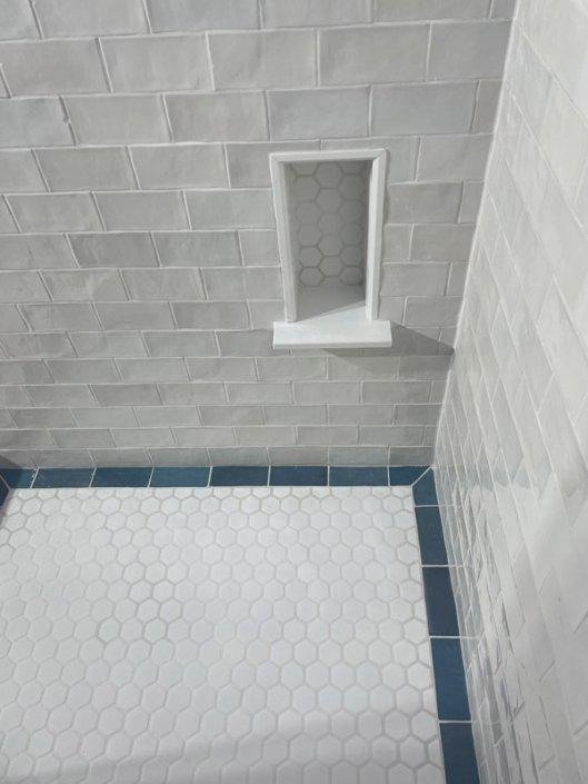 Custom Bathroom Tile Work